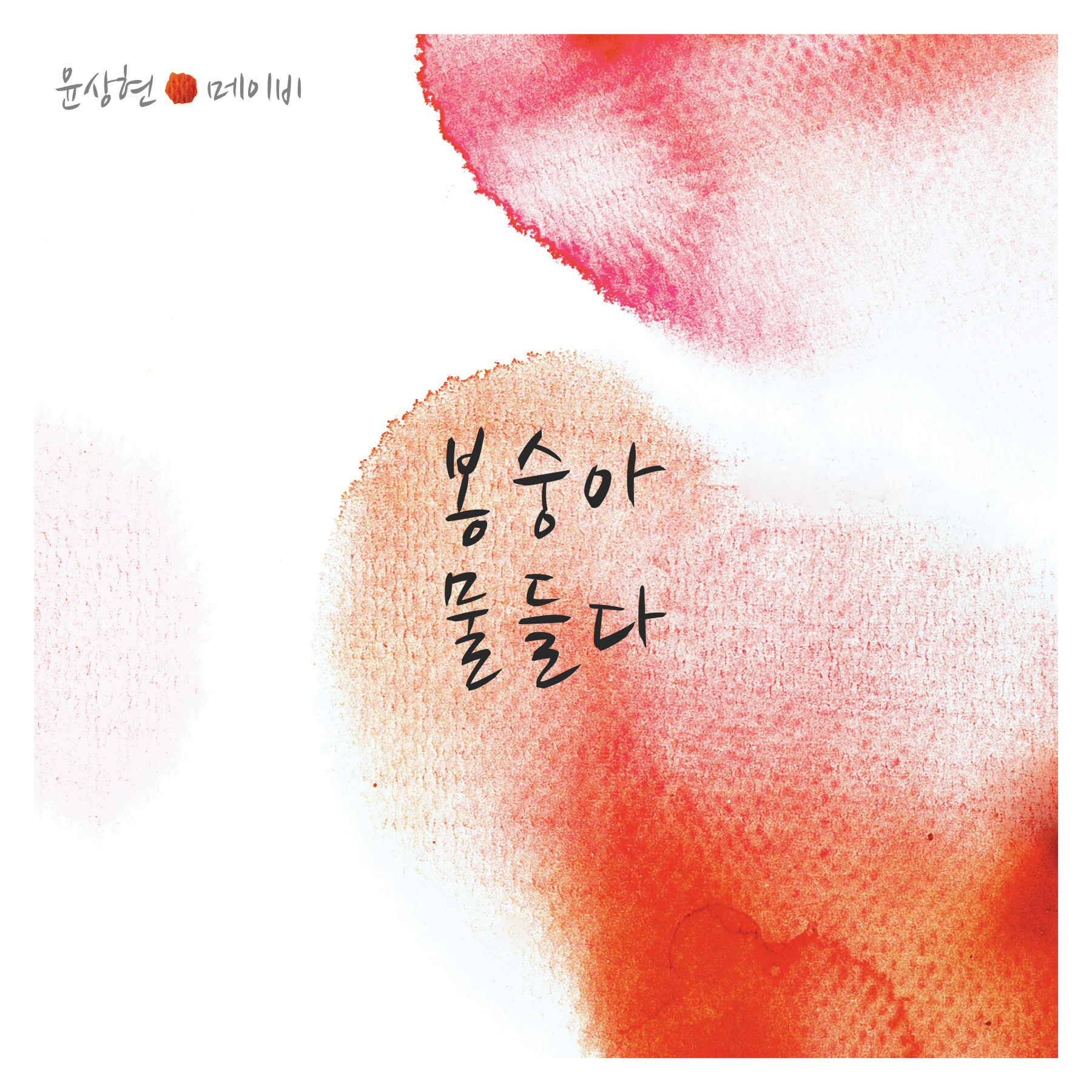 봉숭아 물들다 앨범정보